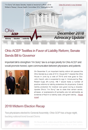 Dec 2018 Advocacy Update Thumb