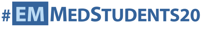 2020 Med Student Symposium Hashtag Graphic