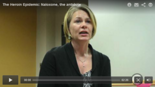 VIDEO Dr. Joan Papp describes the effect of naloxone